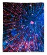 Beautiful Fireworks  2 Fleece Blanket