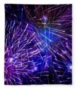 Beautiful Fireworks  3 Fleece Blanket