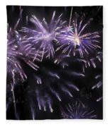 Beautiful Fireworks 7 Fleece Blanket