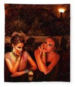 Beautiful Gossipers Fleece Blanket