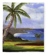 Beautiful Kauai Fleece Blanket