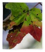 Beautiful Maple Leaf Fleece Blanket