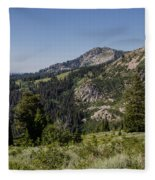 Beautiful Mountains Fleece Blanket