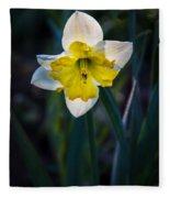 Beautiful Narcissus Fleece Blanket
