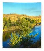 Beautiful Payette Fleece Blanket