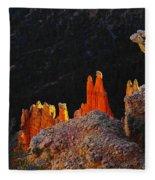 Beautiful Pinnacles At Bryce Canyon Fleece Blanket