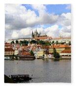 Beautiful Prague Fleece Blanket