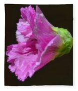Beautiful Purple Flower Fleece Blanket