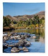 Beautiful River Fleece Blanket