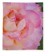 Beautiful Rose Fleece Blanket