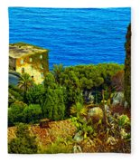 Beautiful Sicily Fleece Blanket