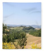 Beautiful Spot - Crete Senesi Fleece Blanket