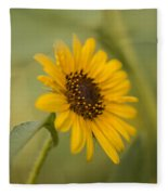 Beautiful Sunflower Fleece Blanket