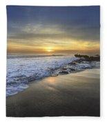 Beautiful Sunrise Fleece Blanket