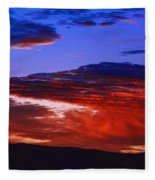 Beautiful Sunrise In Boise Fleece Blanket