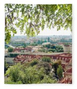 Beautiful View Of Prague Fleece Blanket