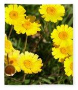 Beautiful Weeds 32655 Fleece Blanket