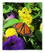 Beauty All Around Fleece Blanket