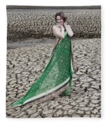 Beauty Among The Dead Fleece Blanket