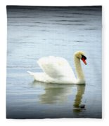 Beauty And Elegance Fleece Blanket