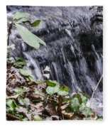 Beauty And The Rapids Fleece Blanket