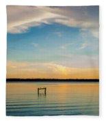 Beauty At Sundown Fleece Blanket