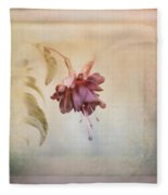 Beauty Fades Softly Framed Fleece Blanket