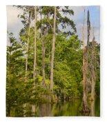 Beauty In A Swamp Fleece Blanket