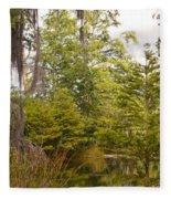 Beauty In  A Swamp Ll Fleece Blanket