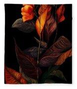 Beauty In The Dark Fleece Blanket
