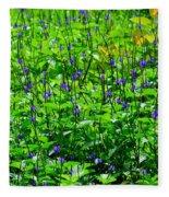 Beauty In The Meadow Fleece Blanket