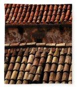 Beauty Of Dubrovnik 3 Fleece Blanket