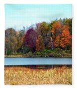 Beauty Of Fall Fleece Blanket