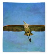 Beauty Of Flight Textured Fleece Blanket
