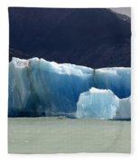 Beauty Of Icebergs Patagonia 6 Fleece Blanket