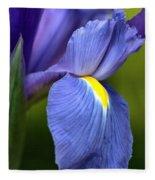 Beauty Of Iris Fleece Blanket