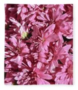 Beauty Of Pink Fleece Blanket