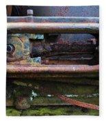 Beauty Of Rust 4 Fleece Blanket