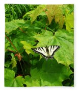 Beauty Of Summer Fleece Blanket