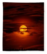 Beauty Of The Sun And Clouds Fleece Blanket
