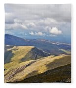 Beauty Of Wales Fleece Blanket