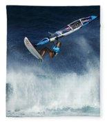 Beauty Of Windsurfing Maui 1 Fleece Blanket