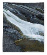 Beaver Falls Detail 1 Fleece Blanket