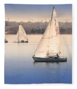 Becalmed Fleece Blanket