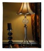 Bedroom Lamp Fleece Blanket