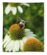 Bee 7 Fleece Blanket