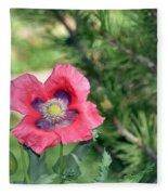 Bee A Flower Fleece Blanket