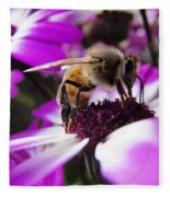 Bee Happy Fleece Blanket