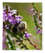 Bee On Heather Fleece Blanket