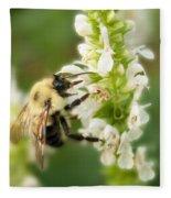'bee'autiful Morning Fleece Blanket